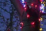 """СВІТЛОДІОДНА ГІРЛЯНДА НА ДЕРЕВА """"ПРОМІНЬ -3"""" мультиколір (комплект 3 променя по 20 метрів), фото 3"""