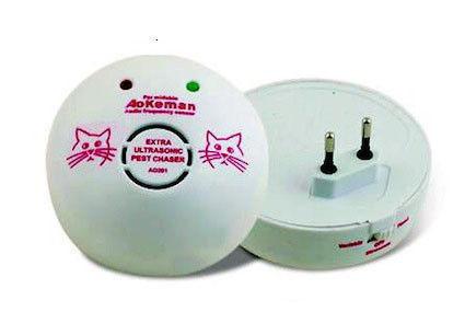 Мощный электромагнитный отпугиватель грызунов и тараканов Aokeman sensor AO 201/102