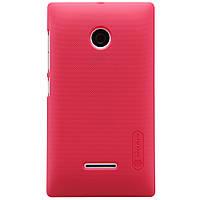 Чохол Nillkin для Microsoft Lumia 532 червоний (+плівка), фото 1