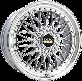 Диски BBS (ББС) модель Super-RS цвет brilliant silver