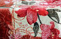 Плед Цветок полуторный акриловый  фирма Senfela