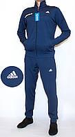 Мужской спортивный костюм Adidas 1827 эластик  (копия) M