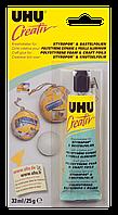 Клей CREATIVE для полистирола и фольги 33 мл. UHU 47185