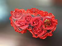 Подарочный набор Мыльные розы для ванной, Сувенир мыльные лепестки роз, мыло лепестки роз