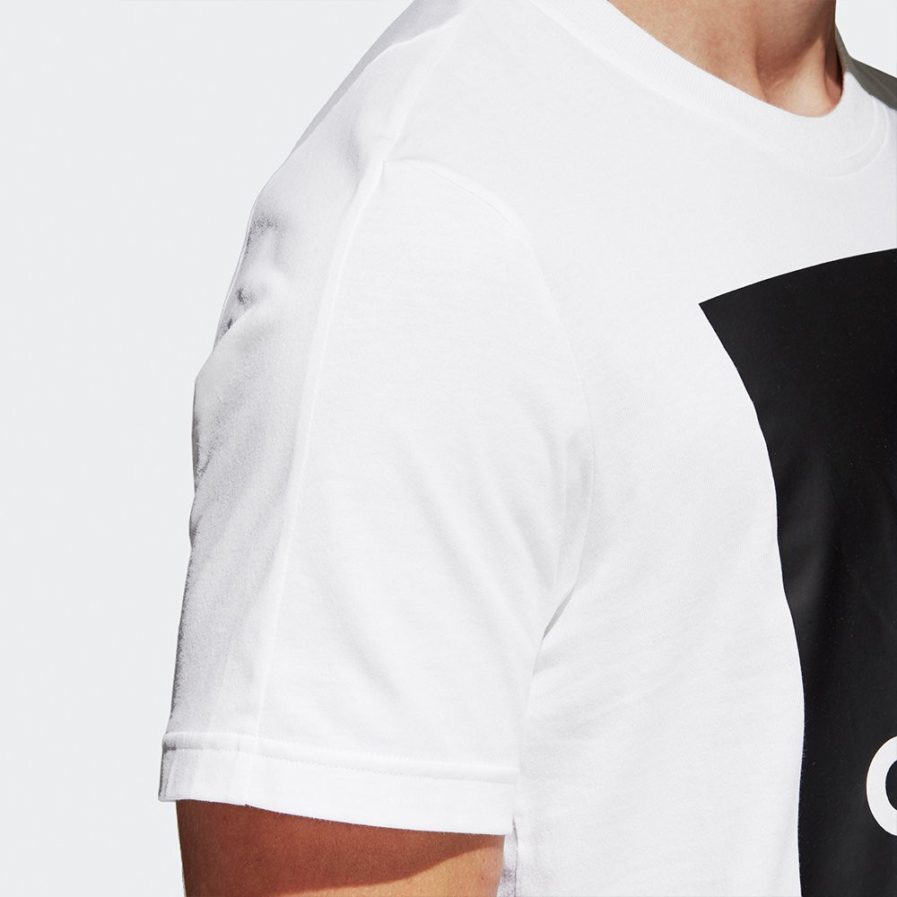 Оригинальная Футболка Adidas Essentials Box Logo Tee White B47358