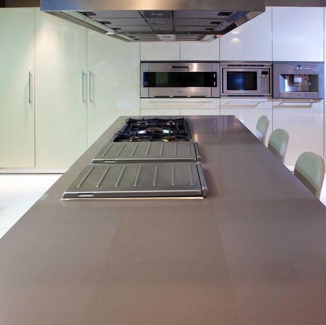 Кухонная Cтолешница  Искусственный камень - кварц Silestone Unsui - Photo