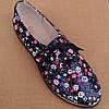Туфли женские на низком ходу со шнурками черные, фото 9