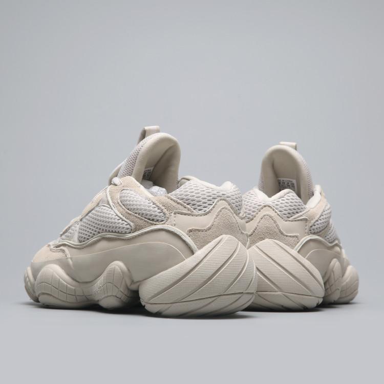 1efbab79259 Adidas Yeezy Boost 500 Desert Rat «Blush» бежевые женские