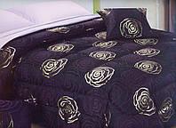 Покрывало комфортер сатин люкс с комплектом для спальни