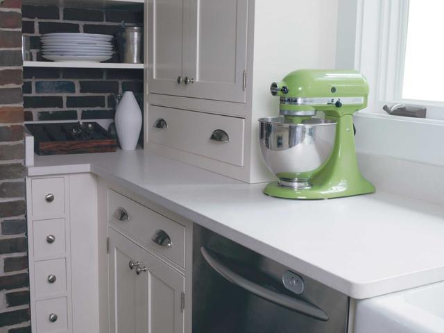 Кухонная Cтолешница  Искусственный камень - кварц Silestone Yukon - Photo