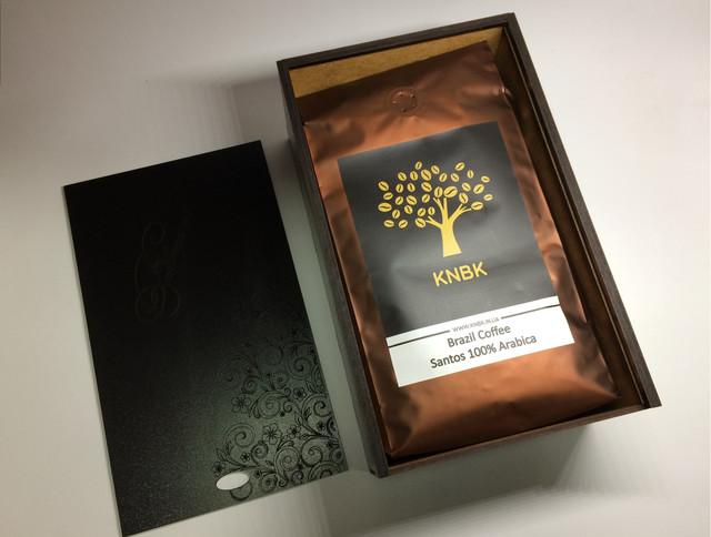 кофе на подарок, подарочная упаковка кофе