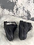Женские кроссовки в стиле Rick Owens Х adidas Mastodon Pro II Black, (Реплика ААА), фото 4