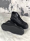 Женские кроссовки в стиле Rick Owens Х adidas Mastodon Pro II Black, (Реплика ААА), фото 2