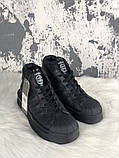 Женские кроссовки в стиле Rick Owens Х adidas Mastodon Pro II Black, (Реплика ААА), фото 3