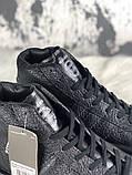 Женские кроссовки в стиле Rick Owens Х adidas Mastodon Pro II Black, (Реплика ААА), фото 6