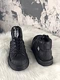 Женские кроссовки в стиле Rick Owens Х adidas Mastodon Pro II Black, (Реплика ААА), фото 7