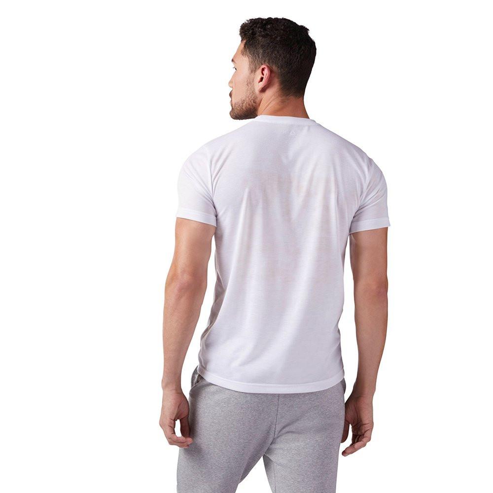 Оригинальная Футболка Reebok Camo Logo T-Shirt White CF3848