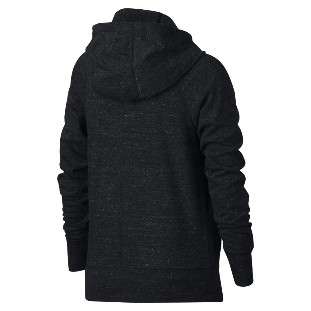 Nike Sportswear Vintage Hoodie Full Zip Black 890271-010