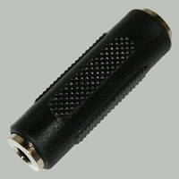 Переходник гн.3,5мм стерео -гн.3,5мм стерео, корпус пластиковый