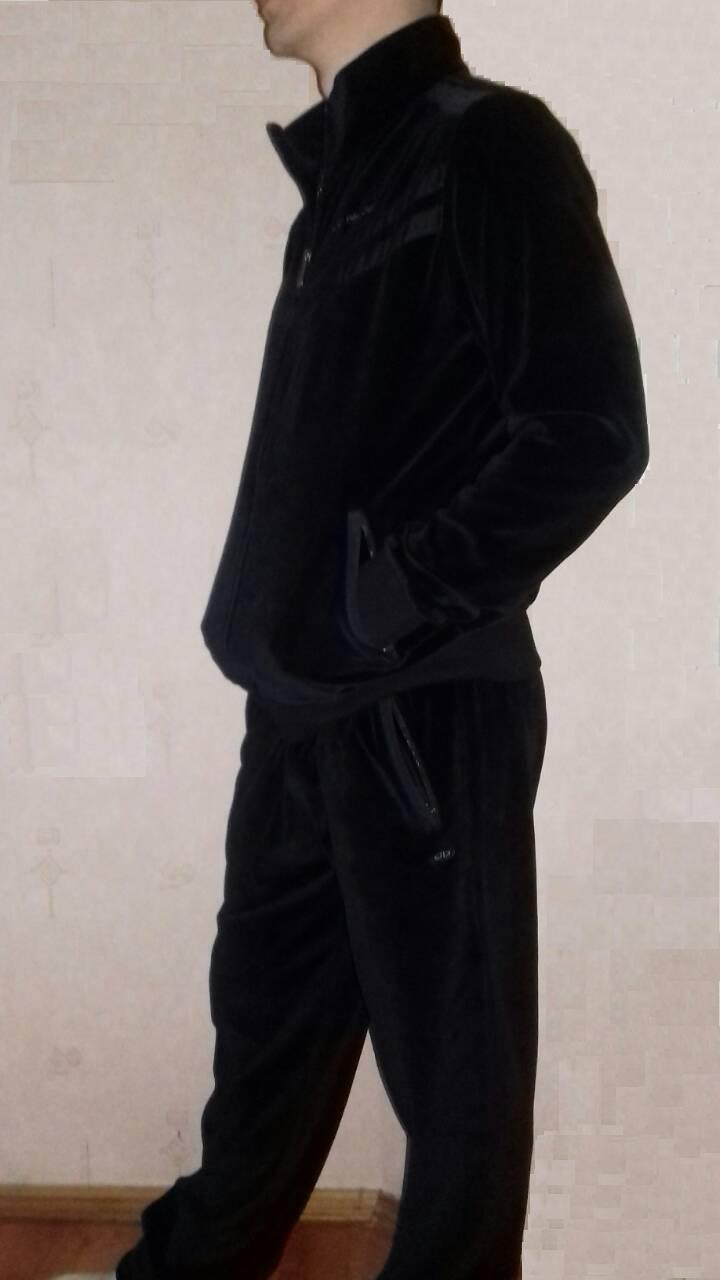 d4ebab4f Спортивный костюм мужской велюровый хлопок фирма Billcee: продажа ...