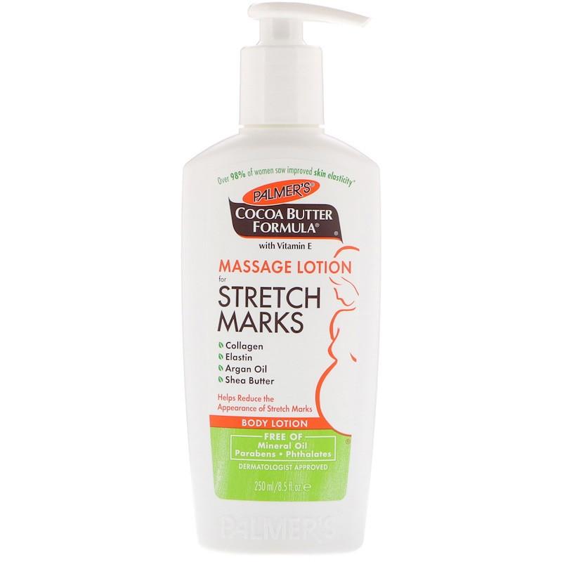 """Массажный лосьон от растяжек Palmer's """"Massage Lotion for Stretch Marks"""" с маслом какао и витамином Е (250 мл)"""