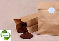 Бумажный крафт пакет с дном 260*140*335 бурый