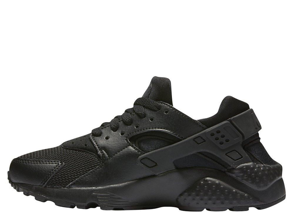"""Женские кроссовки  Размер 36,5 Nike Air Huarache Run  """"Black"""" 654275-016"""
