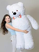 Большая мягкая игрушка Мишки белый 160 см