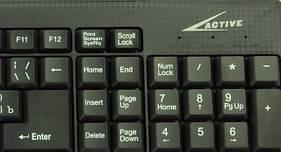 Клавиатура проводная USB мультимедиа 2001 А