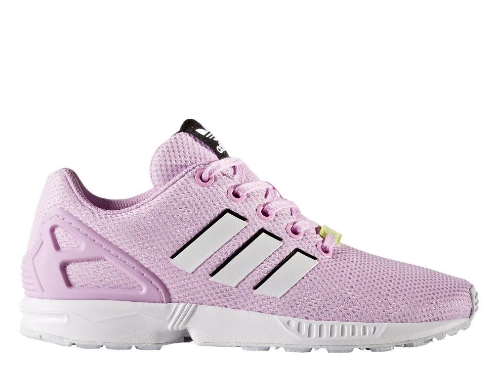 """Оригинальные Кроссовки Adidas ZX Flux Junior """"Frost Pink""""  BY9826"""