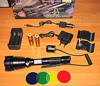 Мощный подствольный фонарь Police BL-Q2800-T6 50000W
