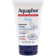 """Заживляющая мазь від попрілостей Aquaphor, Baby """"Healing Ointment"""" для сухої та подразненої шкіри (85 г)"""