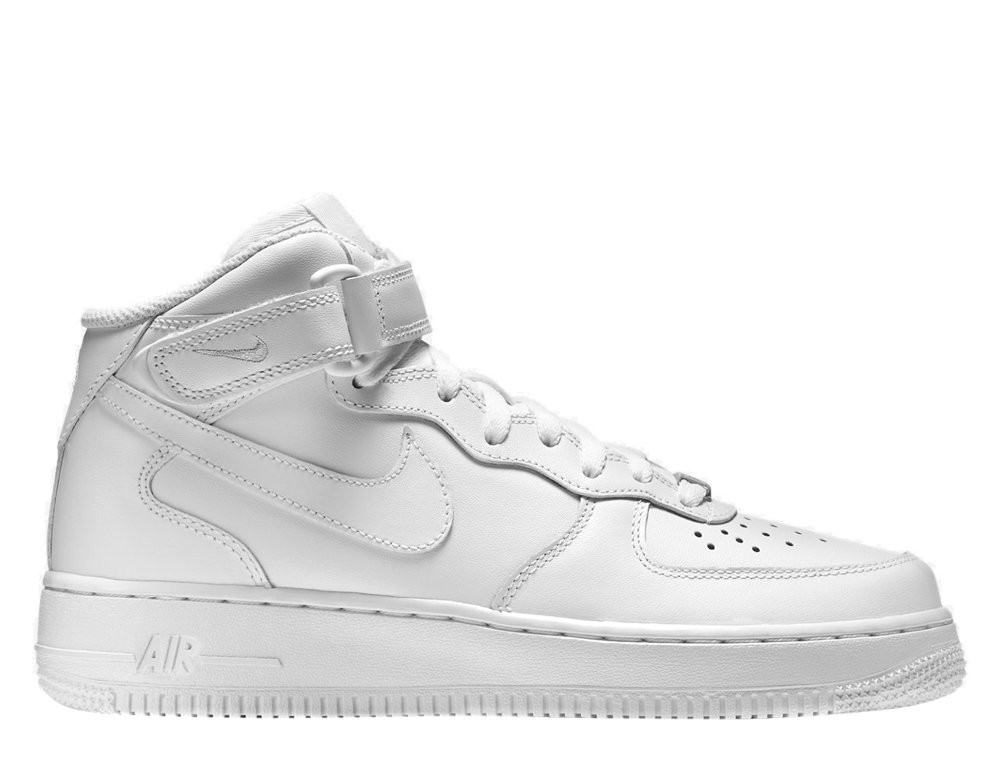 Женские кроссовки  Nike Wmns Air Force 1 Mid 07' Leather  366731-100