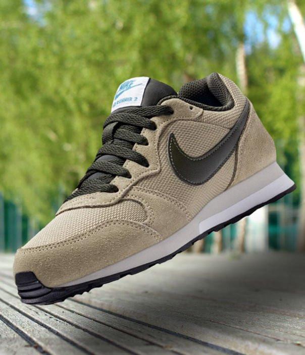 Оригинальные Кроссовки Nike MD Runner 2  Neutral Olive 807316-200