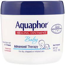 """Заживляющая мазь від попрілостей Aquaphor, Baby """"Healing Ointment"""" для сухої та подразненої шкіри (396 г)"""
