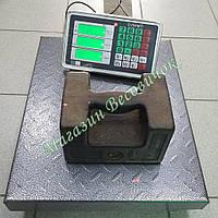 Усиленные товарные весы Олимп 102B 300 кг (400х500мм)