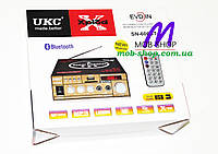 Усилитель звука UKC SN-606BT USB+SD+Bluetooth, фото 6