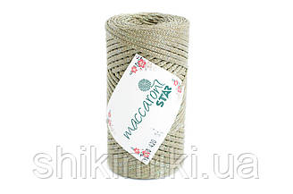 Трикотажный шнур с люрексом Star, цвет Оливковый
