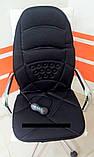 Массажная накидка  с подогревом Massage seat topper JB - 100C - подогрев сиденья, фото 2