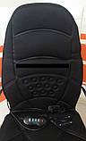Массажная накидка  с подогревом Massage seat topper JB - 100C - подогрев сиденья, фото 3