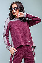 Жіночий спортивний двоколірний костюм (3188-3182-3187-3186 svt), фото 3
