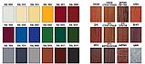 """Металеві фасадні панелі Термастіл """"Ліберті безшовна"""" PE глянець RAL 9006 0.45 мм, Китай, фото 10"""