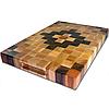 № 4 Торцевая разделочная доска-готовое изделие. 6 пород древесины.