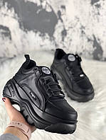 Женские кроссовки Buffalo London 1339 (Black), черные женские кроссовки Buffalo