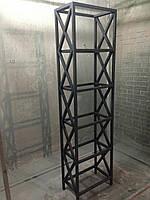 Стеллаж Лофт. Loft мебель. Каркас стеллажа. Мебель из металла. Стеллаж