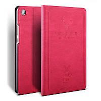 """Чехол для Xiaomi Mi Pad 4 8.0"""" BGR Flip Deer Leather + PC (Crimson) Малиновый"""