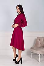 """Приталенное асимметричное платье """"LENTE"""" с карманами (3 цвета), фото 2"""