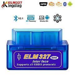 OBD2 авто диагностический инструмент ELM327 V2.1  Bluetooth