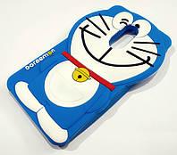 Чохол дитячий для Xiaomi Redmi Note 4X силіконовий об'ємний іграшка кіт синій