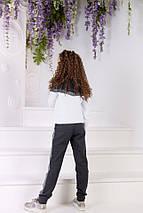 """Детский трикотажный спортивный костюм """"Dairan"""" с люрексом (2 цвета), фото 3"""